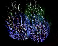 Feux d'artifice (feux d'artifice) Image stock