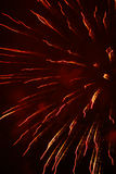 Feux d'artifice grands Images libres de droits
