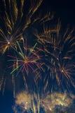 Feux d'artifice le Jour de la Déclaration d'Indépendance Photo stock