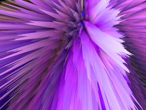 feux d'artifice lumineux, lilas illustration stock