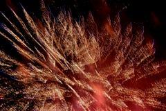 Feux d'artifice - photos courantes photo libre de droits