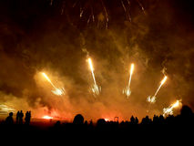Feux d'artifice spectaculaires 2 Photos stock