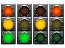Feux de signalisation. Photo libre de droits