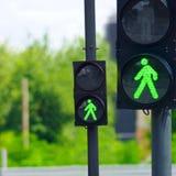 Feux de signalisation Photos libres de droits