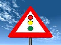 Feux de signalisation Illustration Libre de Droits