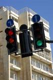 Feux de signalisation Photos stock