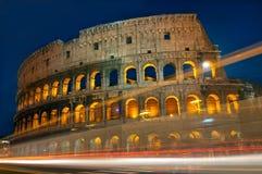 Feux de signalisation de Colosseum Image libre de droits