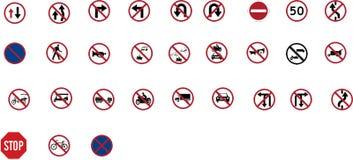 Feux de signalisation rouges illustration libre de droits