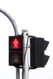Feux de signalisation rouges Images stock