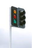 Feux de signalisation usés Photo libre de droits