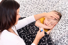 Fever? stock image