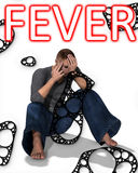 Fever. Concept medical image about swine fever Stock Photos