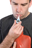 Fever in Fahrenheit Stock Image