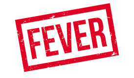 Fever rubber stamp Stock Image