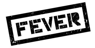 Fever rubber stamp Royalty Free Stock Images