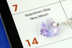 Fevereiro 1ô é o dia de Valentineâs Fotos de Stock Royalty Free