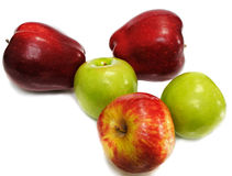 Few Apples Royalty Free Stock Photos