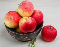 Few apples Royalty Free Stock Photo