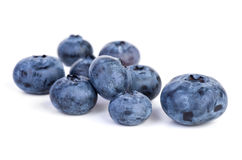 Few bilberries Stock Photo