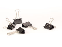 A few Binder clips #4 Royalty Free Stock Images