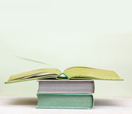 A few books Stock Photos