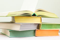 A few books Royalty Free Stock Photo