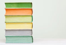A few books Royalty Free Stock Photography
