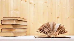 A few books royalty free stock photo