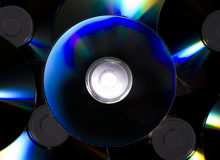 Few CD`s Stock Image