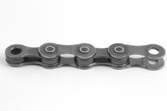 Few chain links for Bicycle closeup on white background Stock Photography