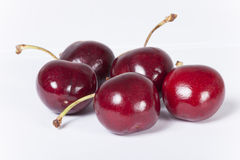 A few cherries Royalty Free Stock Images