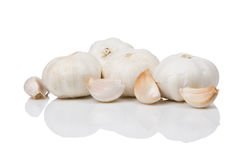 Few cloves of garlic Royalty Free Stock Images