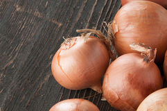 Few different onions Royalty Free Stock Photography