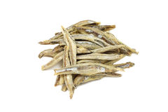 A few dried anchovies Stock Photography