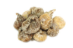 A few dried figs Royalty Free Stock Photos