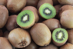 A few fresh kiwi fruits Royalty Free Stock Photography