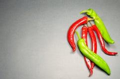 Few fruits hot pepper Stock Photo