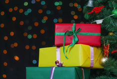 Few gifts Royalty Free Stock Photo