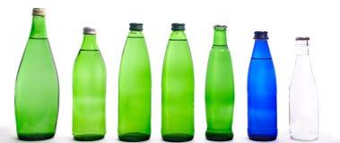 Few glass bottles Royalty Free Stock Photos