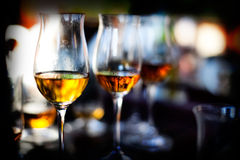 A few glasses Royalty Free Stock Images