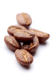 Few grain of coffee Royalty Free Stock Photography