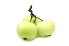 A few green apples Royalty Free Stock Photography