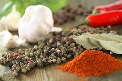 Few hot spice Stock Photo