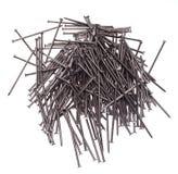 Few iron nails Stock Photo
