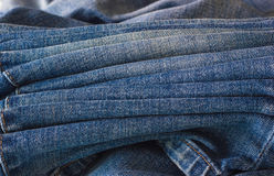A few jeans close-up. stock photos
