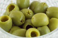 A few olives Stock Photography
