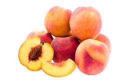 Few peaches Royalty Free Stock Image