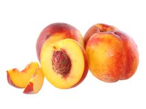 A few peaches Royalty Free Stock Photos