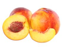 A few peaches Stock Image