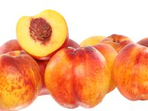 A few peaches Stock Photography
